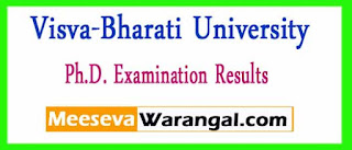 Visva-Bharati University Ph.D. Examination Results
