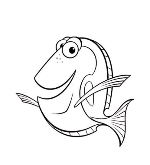 Fun Coloring Pages: Finding Nemo Coloring Pages