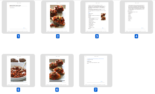 Problem Is When You Print Or Save As PDF Each Image Can Take A Full Page In Total This Recipe Takes 7 Pages