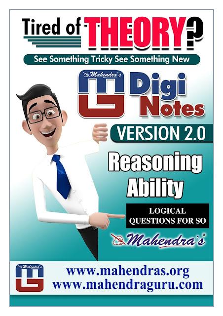 Digi Notes - 2.0 | IBPS SO Special : Logical Questions  | 27.12. 2017