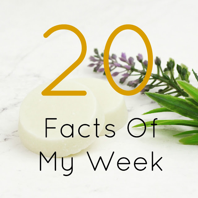 Lovelaughslipstick Blog - 20 Facts About My Week Personal Post