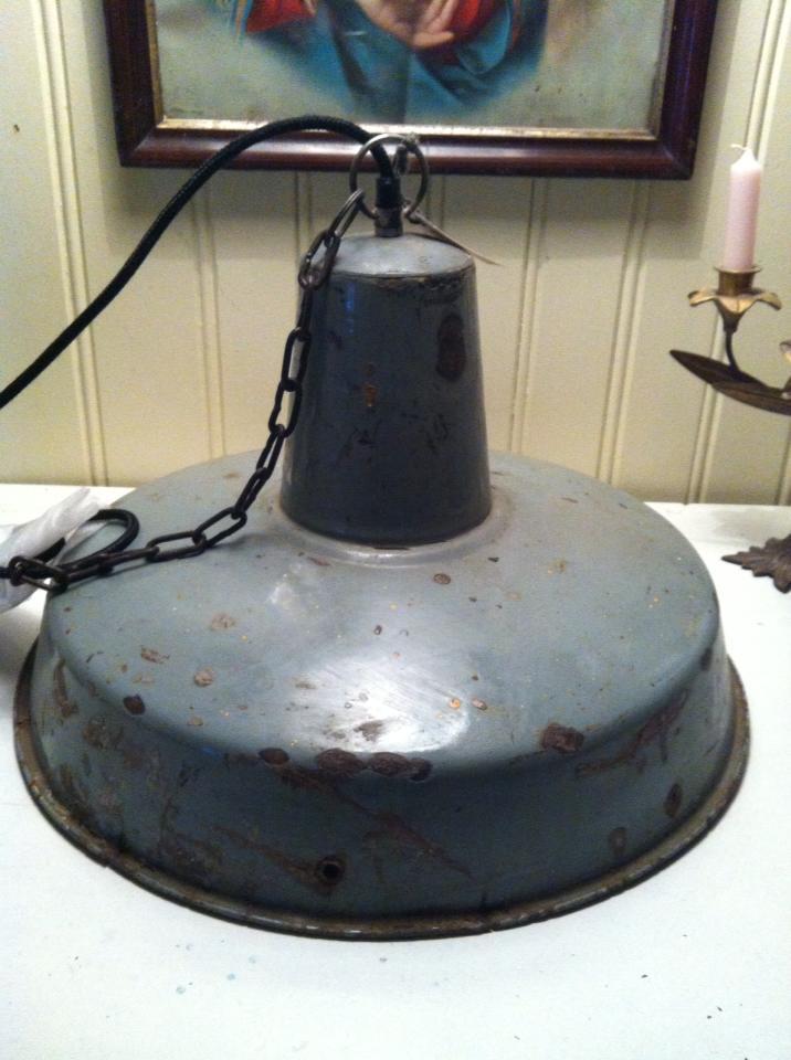 Forskjellige Bakgårdens butikkblogg: Grå industri lampe TY-81
