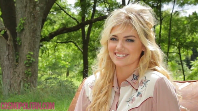 Kate Upton Behind The Scenes Cosmopolitan Photoshoot