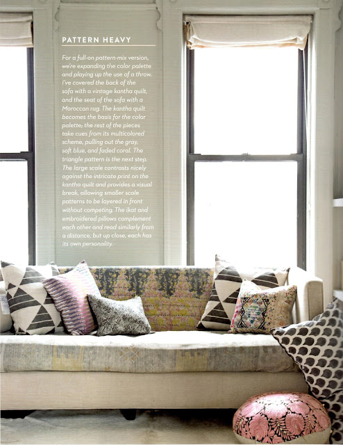 You found this photo on BoHo Home @bohosusan. Living With Pattern is by Rebecca Atwood. Photos by Emily Johnston