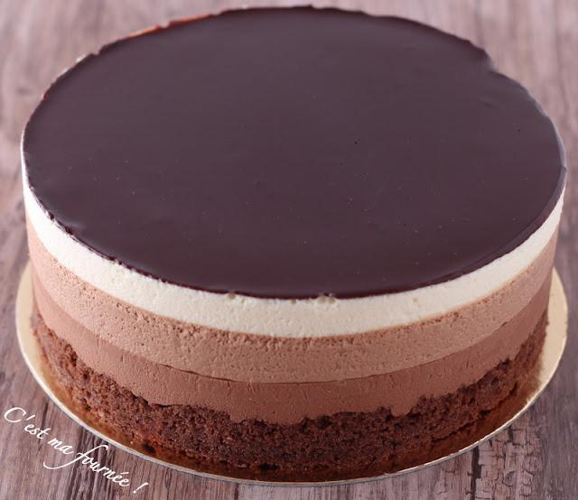 Recette gateau 3 chocolat