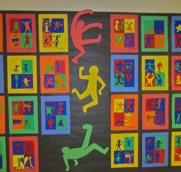 Keith Haring Elementary Art Projects