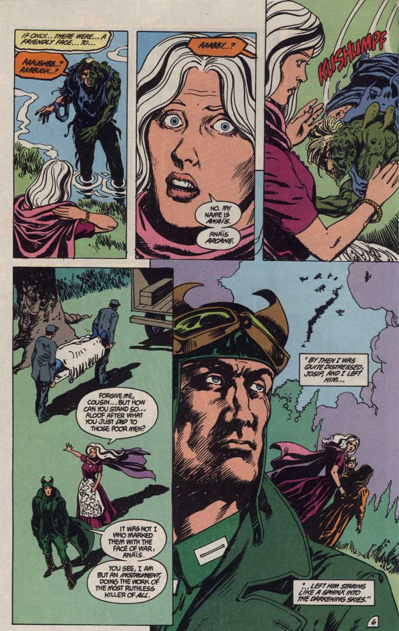 Swamp Thing (1982) Issue #83 #91 - English 6