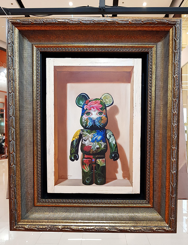 Daeng Buasan แดง บัวแสน - Color Me Bear 2018 designer Be@rBrick toy