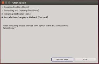 Cara Membuat Live System Ubuntu di USB Stick atau USB Bootable