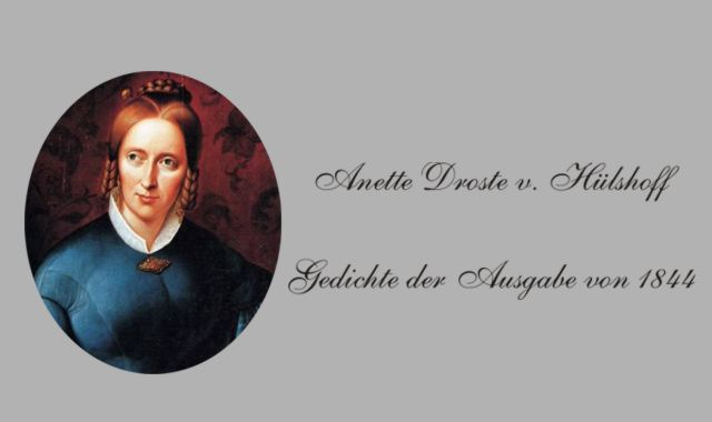 Lyrikerin A.v. Droste Hülshoff