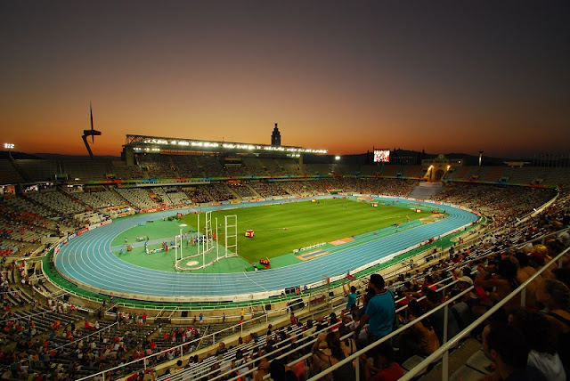 Estadi Olímpic em Barcelona