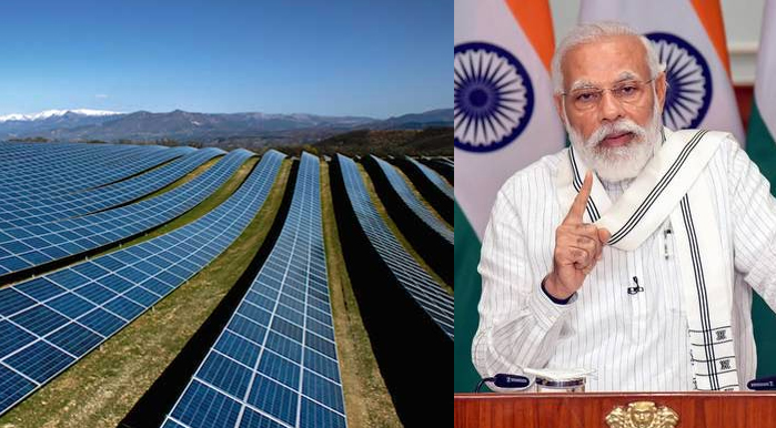 Asia's largest solar power project Riva inaugurated by Prime Minister