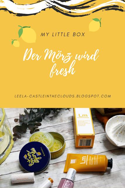 My little Box Der März 2019 wird fresh Pinterest