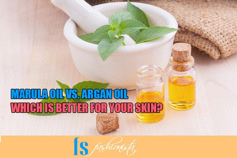 Marula oil versus argan oil
