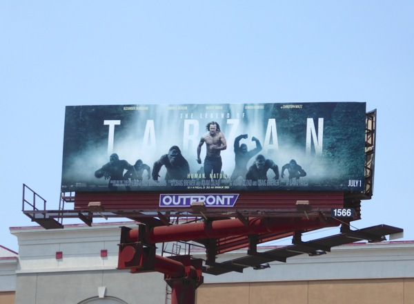 Tarzan film billboard
