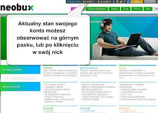 Neobux - wypłata pieniędzy