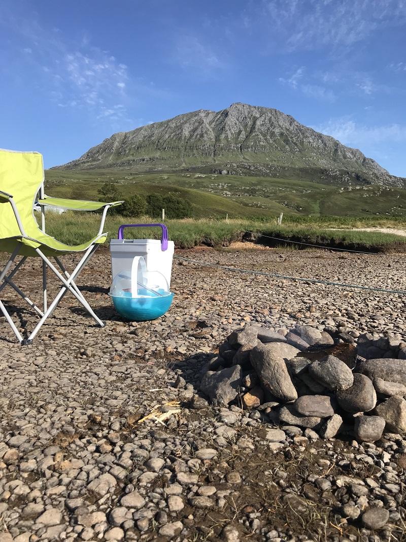 Wild camping at Ben Hope