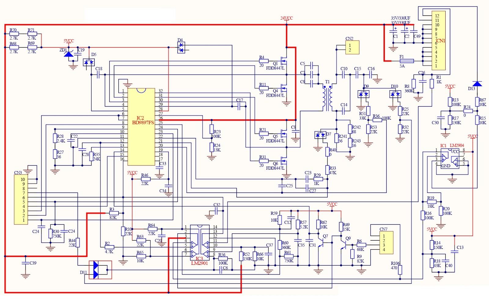 Schematic Diagrams  Vizio  Lg And Tcl Lcd Tv Smps Schematics