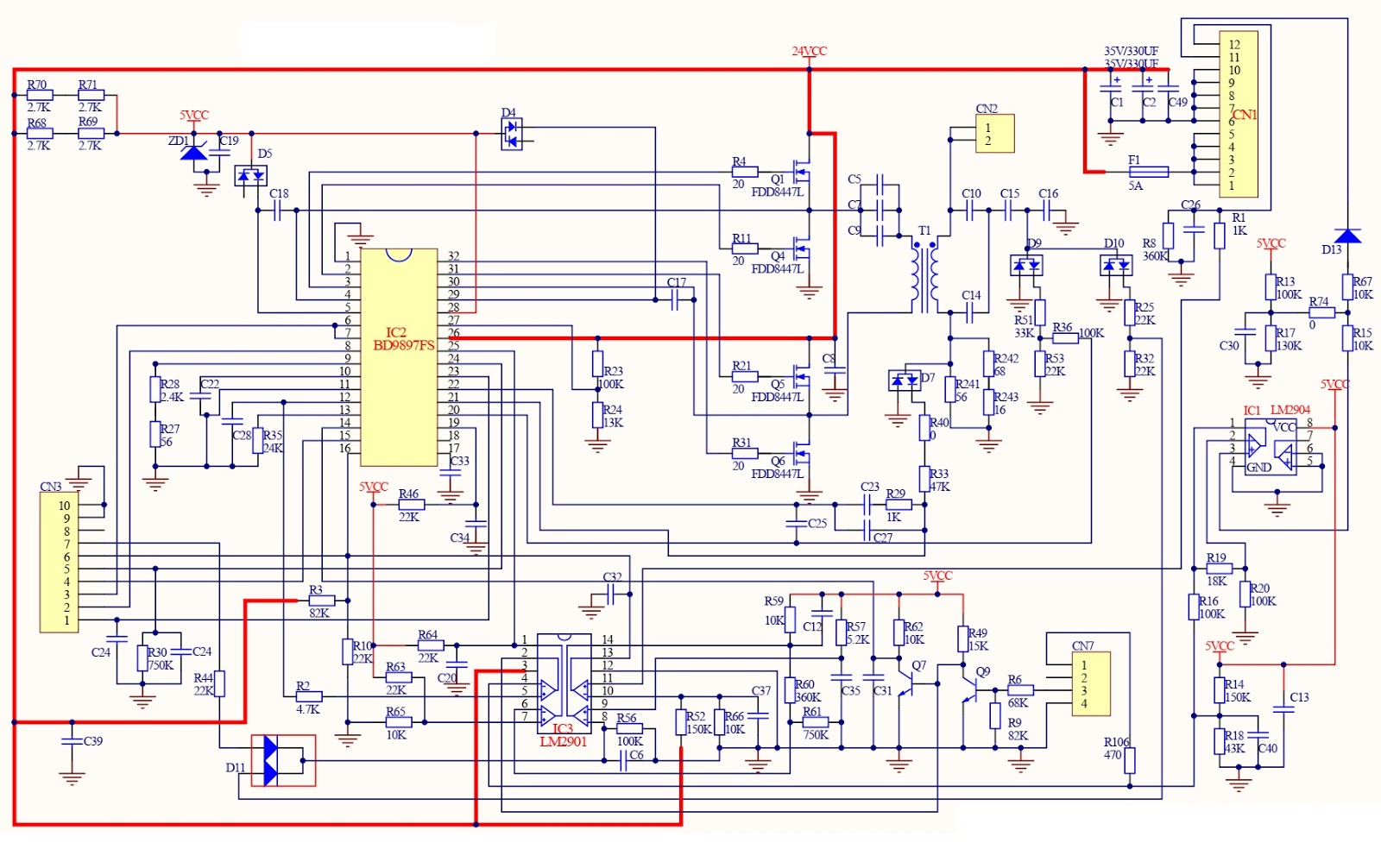 vizio lg and tcl lcd tv smps schematics schematic diagrams 42 vizio tv schematic diagram [ 1600 x 1006 Pixel ]