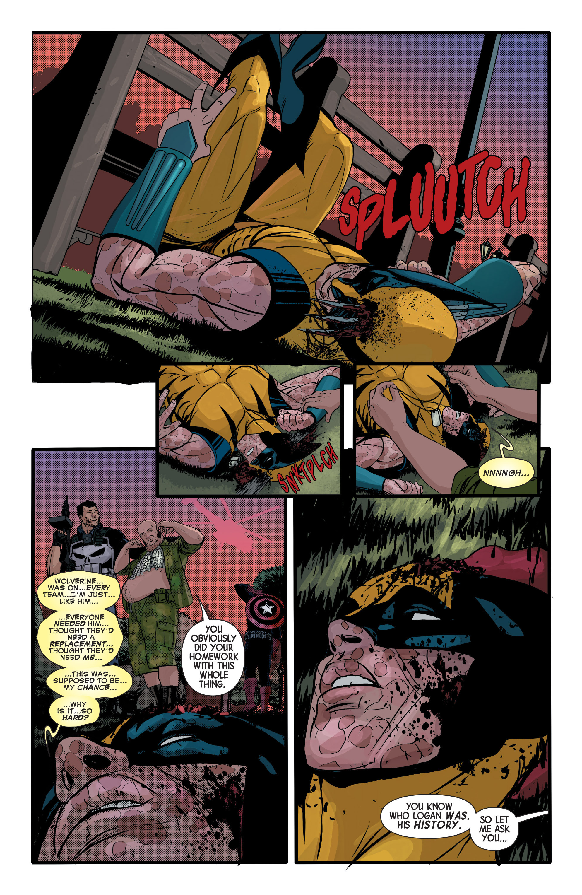 Read online Wolverines comic -  Issue #13 - 19