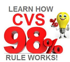 CVS 98% Purchase Rule