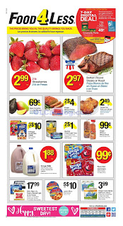 Food 4 Less Weekly Ad October 17 - 23, 2018