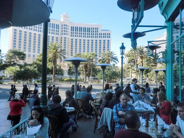 Restaurante Mon Ami Gabi em Las Vegas