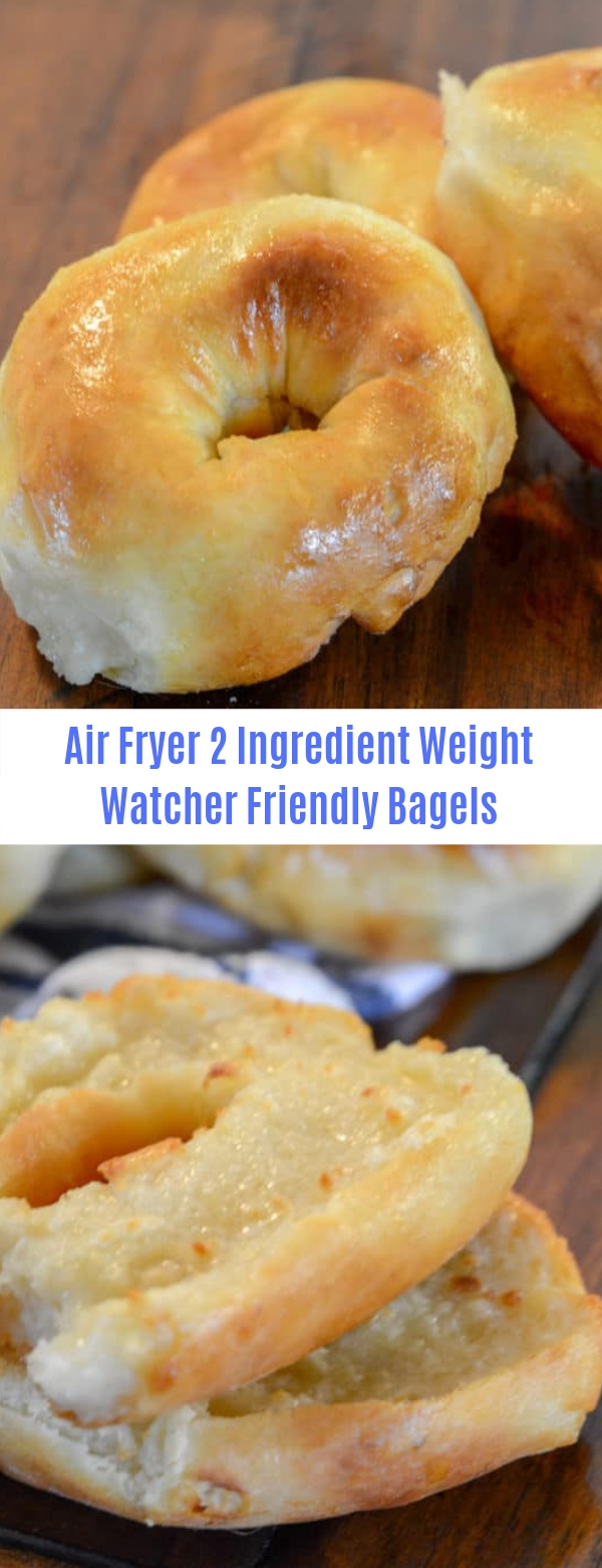 Air Fryer 2 Ingredient Weight Watcher Friendly Bagels