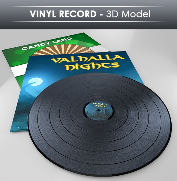Download Record 3D Models