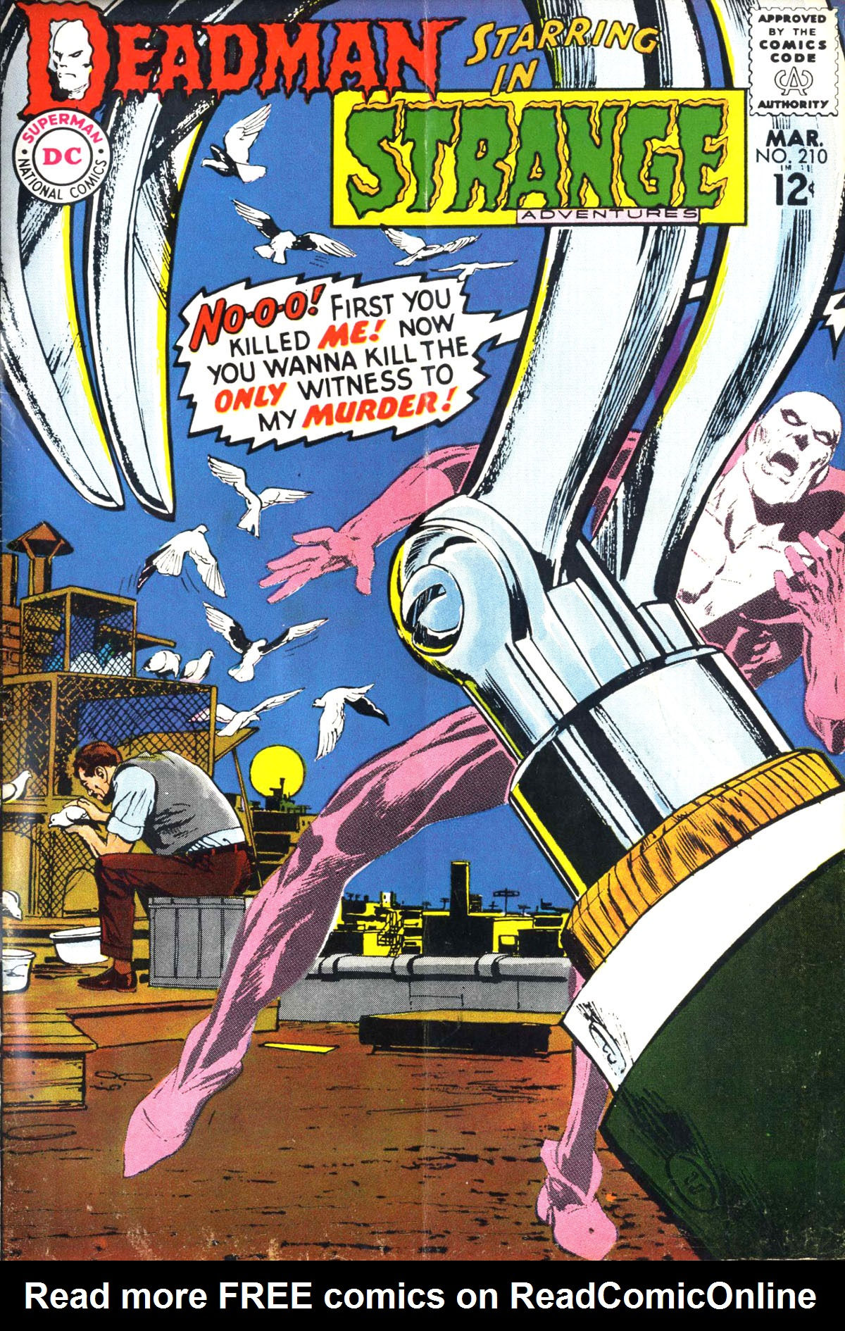 Strange Adventures (1950) issue 210 - Page 1