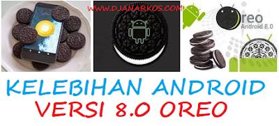 Kelebihan Android Versi 8.0 Oreo