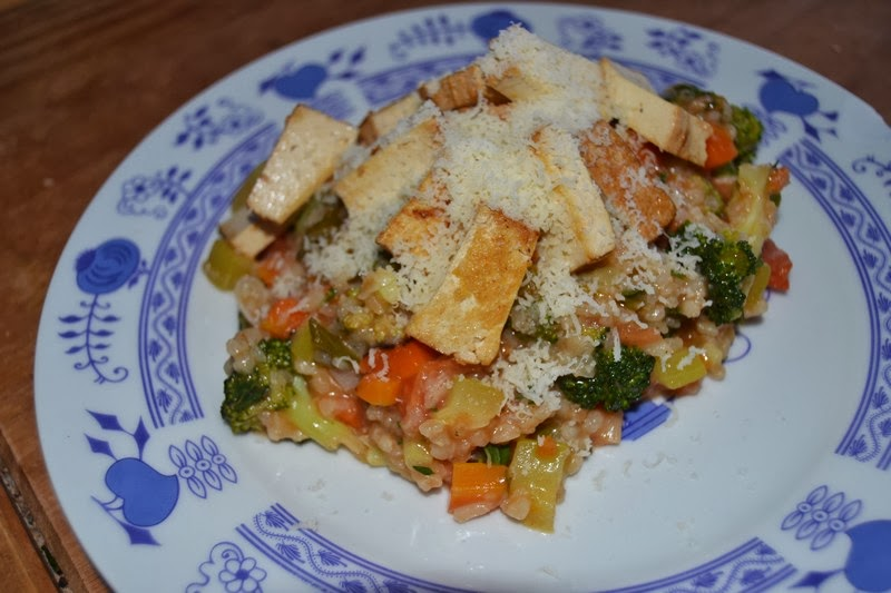 Základní italské (krémové) zeleninové rizoto (406kcal)  6857de2651