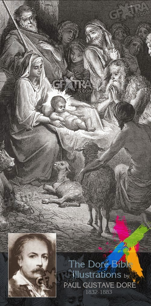 The Bible Illustrations by Paul Gustave Dore, 241 UHQ Plates Download