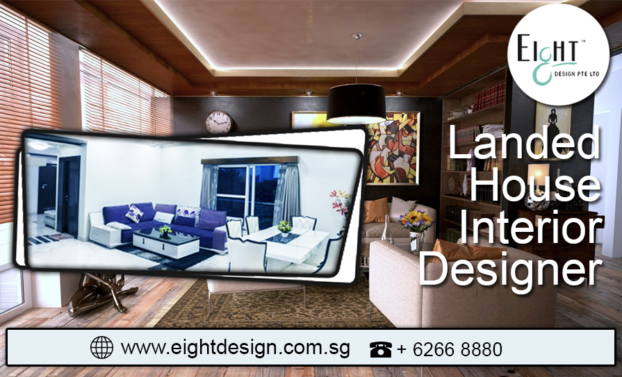Landed Interior Design. Landed House Interior Designer