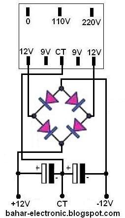 Cara Menyambung Trafo Ke Power : menyambung, trafo, power, Membuat, Power, Supply, Tegangan, Extra, Trafo, Bahar, Electronic