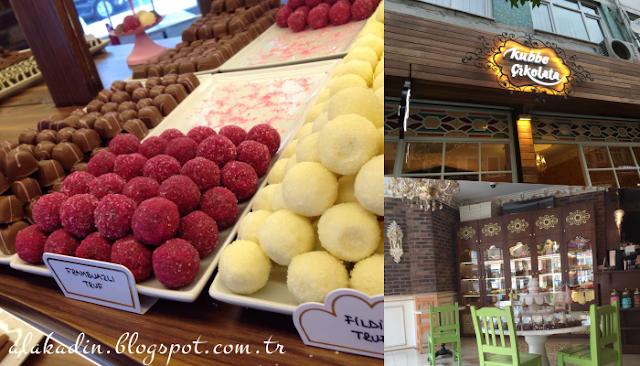 İstanbul'da gezilecek yerler: Kubbe Çikolata