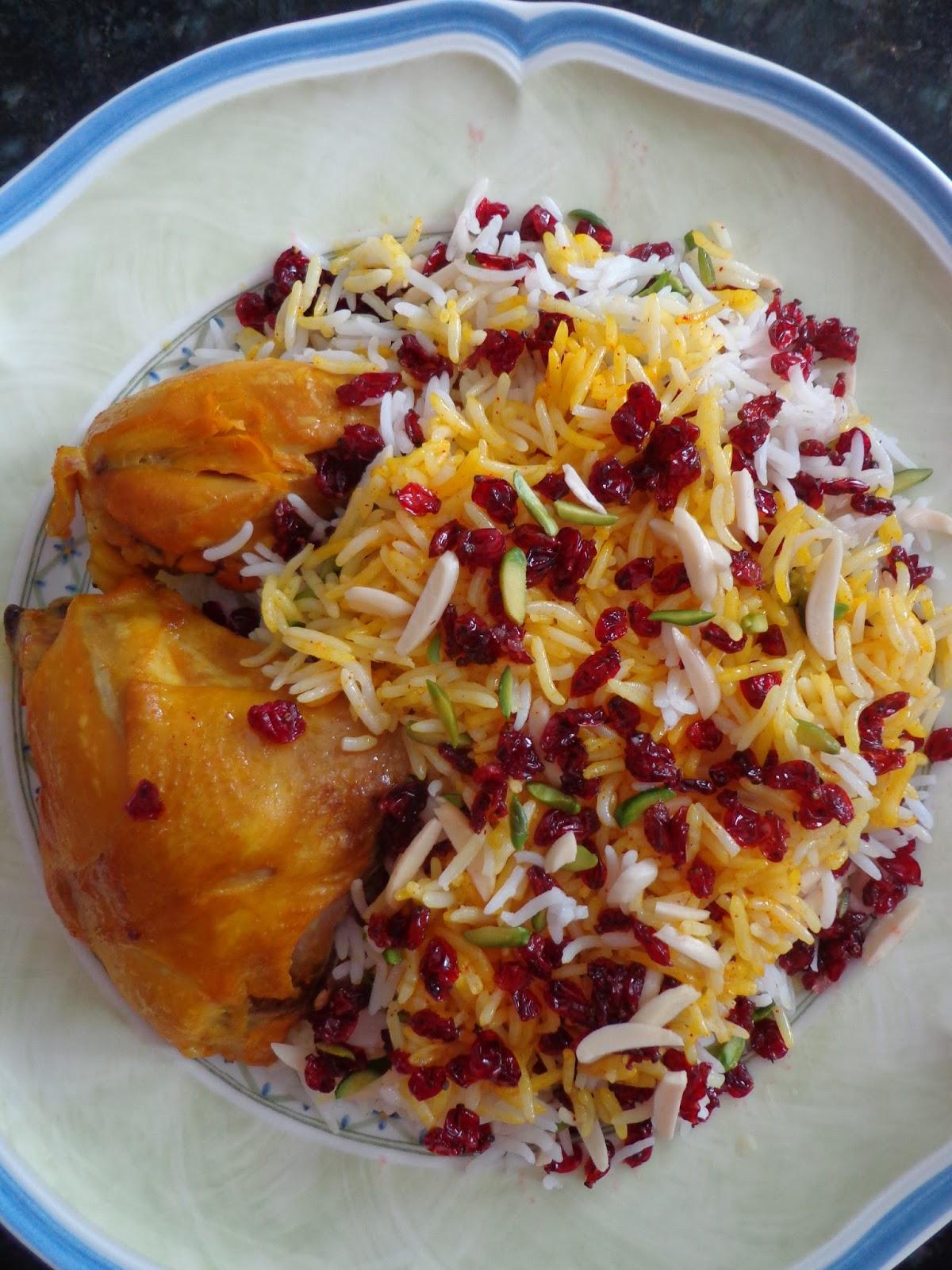 La mia cucina persiana zereshk polo riso basmati con for Cucinare basmati