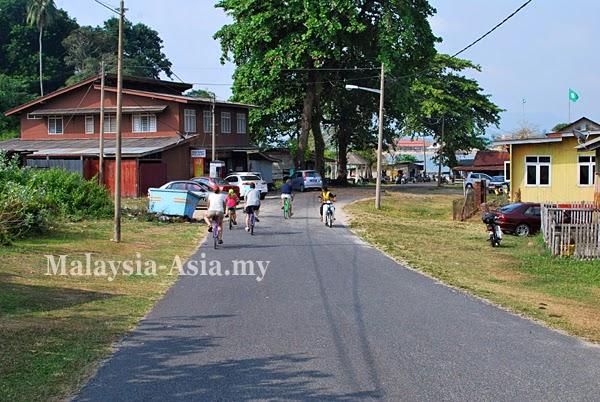 Cycling tours in Dungun Terengganu