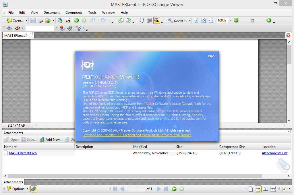 PDF-XChange Viewer 2.5 Full Crack | MASTERkreatif