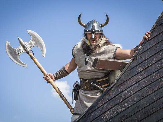 Aprendendo alguma coisa toda semana: Vikings não usavam capacetes ...