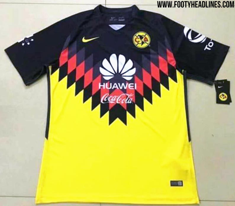 Set to be worn during the 2017 apertura and 2018 clausura for Cuarto kit del america 2018