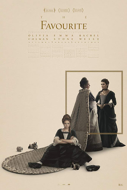 The Favourite 2018 movie poster Yorgos Lanthimos Rachel Weisz Emma Stone Olivia Coleman Academy Awards