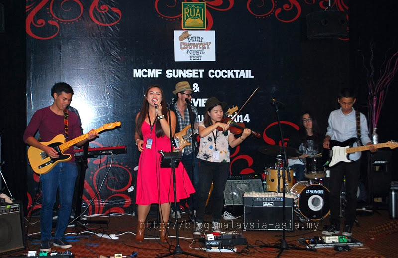 Eia and the Superband at Miri Country Music Festival