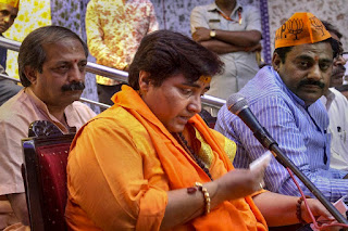 pragya-thakur-released-vision-letter-for-bhopal