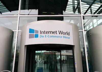 Internet World 2016: der Eingangsbereich