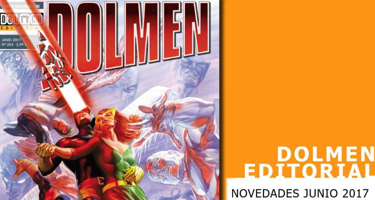 Dolmen Editorial: Novedades para el mes de junio