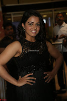 Wamiqa Gabbi in a sleeveless Black Designer Transparent Gown at 64th Jio Filmfare Awards South ~  Exclusive 137.JPG