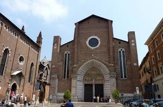 Iglesia de Santa Anastasia de Verona.