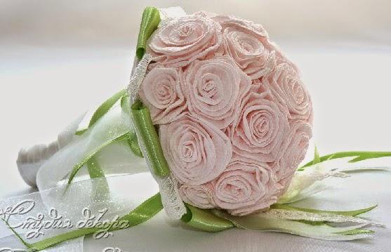 Como hacer un bouquet para la novia paso a paso