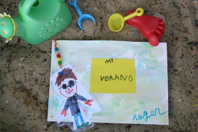 Ideas para practicar lectoescritura niños: cuaderno viaje